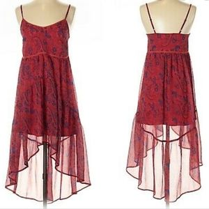 UO Ecote Paisley High low Dress